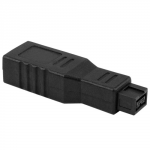 NEWERTECH 9-pin FireWire 800 to 6-pin FireWire 400 Adapter