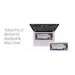 EditorsKeys Traktor Pro 2 / Kontrol S4 Keyboard Cover for Apple MacBooks and Apple Wireless Bluetooth Keyboard