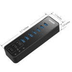 Anker USB 3.0 7-port Data & 3-port Charging Hub
