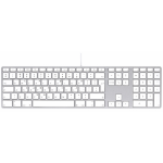 LMP Apple Style USB Keyboard with numeric keypad Greek GR (QWERTY)