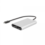 OWC Thunderbolt 3 to Dual Display Port Adapter (2x4K or 1x5K)