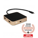 OWC USB-C Travel Dock - Gold