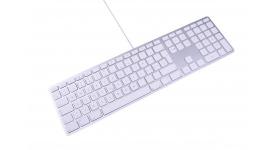 LMP Apple Style USB Keyboard with numeric keypad Greek GR (QWERTY)